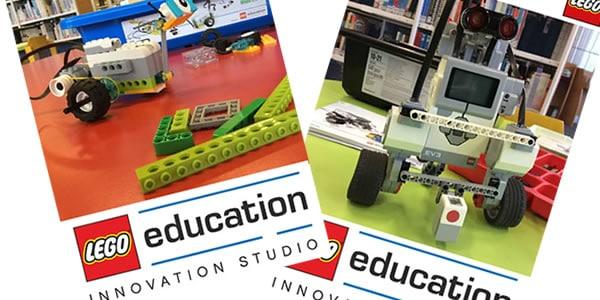 Lego éducation pour construire des robots programmables